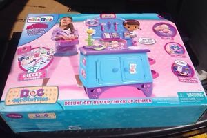 New Disney Jr Doc McStuffins Get Better Check Up Center The Doc in Kids Toy Gift