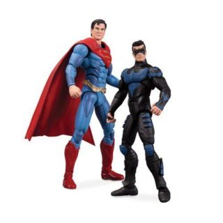 DC Collectibles Injustice Nightwing vs Superman Action Figure 2 Pack Toy Kids