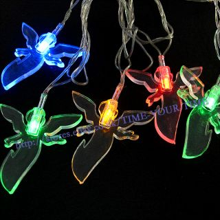 5M LED Multi Color Christmas Wedding Light Wire String Party Garden