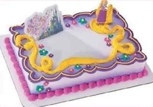 Bakery Birthday Cake Topper Pop Top Tangled Rapunzel Cake Kit Party Supplies