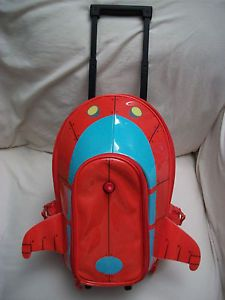 Disney Little Einsteins Pat Pat Rocket Kids Rolling Suitcase Travel Bag Luggage
