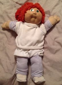 CPK Cabbage Patch Kids 1985 Original Appalachian Artworks Red Hair Green Eyes