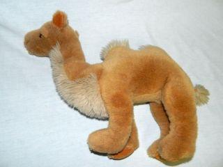 "Vtg 1988 Gund 16"" Plush Stuffed Double 2 Hump Tan Camel Sultan Animal K1 2820"