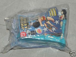 Wonder Woman Burger King Kid's Meal Toy 2003 New SEALED Justice League BK
