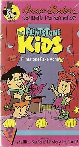 The Flintstone Kids Fake Ache VHS Hanna Barbera Dino Animated Mystery Cartoon
