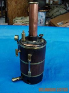 Vintage CHEDDAR/MAXWELL HEMMENS Vertical Boiler Butane Burner for Steam Engine