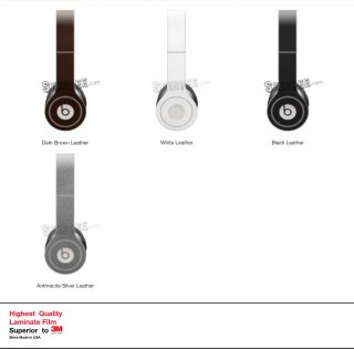 Leather Skin Kit for Monster Beats by Dr Dre Solo Headphones
