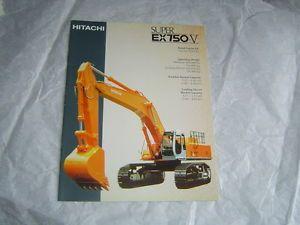 Hitachi Super EX750 V Excavator Brochure