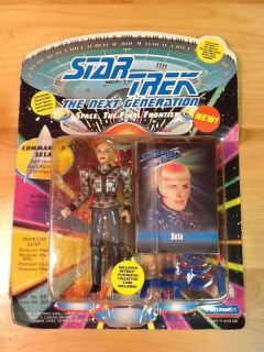 Star Trek The Next Generations Commander Sela Half Human Half Romulan Action Toy
