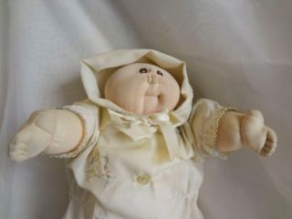 """Little People Soft Sculpture 1978 Hand Signed """"80"""" Cabbage Patch Kids Doll"""