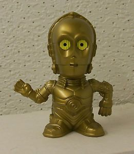 "Star Wars ""C3PO"" Toy Viewer 2005 Burger King Kid's Club Fast Food Toy"