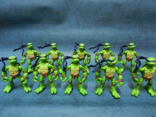 10pc Lot Teenage Mutant Ninja Turtles Soldier Figure Toys Collection Kids Boy