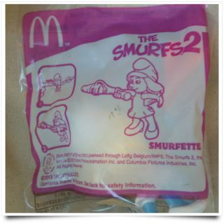 McDonalds Happy Meal Toys Smurfs