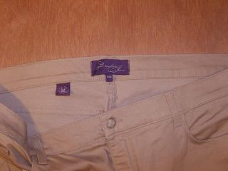 Womens NYDJ not Your Daughters Jeans Size 24W Capri