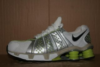 Mint Nike Zoom Air Shox Cognescenti Cog Running Shoe Trainer 311126 Women's 9