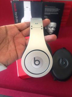 Dre Beats Studio Headphones Silver $$$$$$$