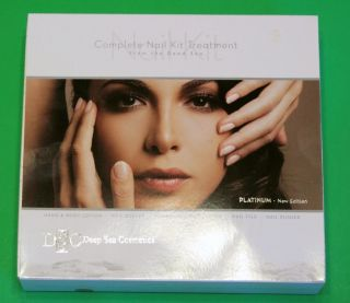 Deep Sea Cosmetics Dead Sea DSC Platinum Manicure 5pc Nail Kit Set Free SH