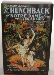 Horror Lon Chaney as The Hunchback of Notre Dame DJ