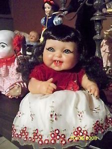 "OOAK Vampire Doll "" Vampirella "" Reborn Dolls Horror Art from Haunted House"