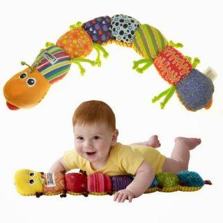 New Kids Baby Wisdom Development Music Carpenterworm Rattle Toys Plaything Long
