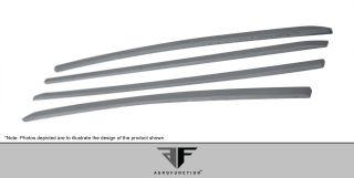 2011 2013 Porsche Cayenne Aero Function AF 1 Wide Front Door Moldings Body Kit