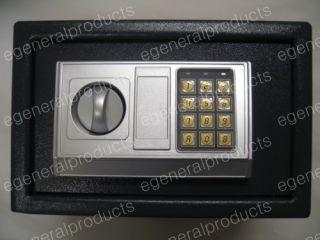 Electronic Digital Safe Box Gun Home Security 14x10x10