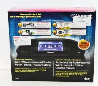 Aluratek Broken AIREC01F WiFi Wireless Internet Radio Tuner Home Theater Ed