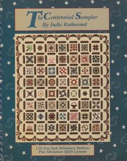 Centennial Sampler Rothermel Miniature Quilt Patterns