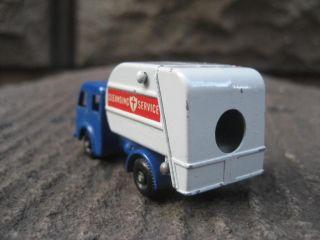 Lesney Matchbox 15c Tippax Refuse Truck w D2 Box EX