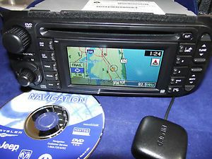 RB1 AI Chrysler Dodge Jeep GPS Radio Navigation CD Player Ready to Install Kit