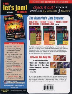 The Let's Jam How to Play Guitar in A Band Book DVD CD