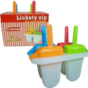 Lickety SIP Ice Pop Maker Popsicle Maker Mold No Drip Easy SIP Spout Juices