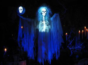 Madam Sonia Horror Prop CGI Animated Halloween Haunted House