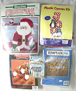 Plastic Canvas Kit Lot