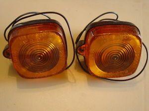 60's 70's 80's Honda CLEARANCE Marker Lights Lens Housings Rat Rod Amber
