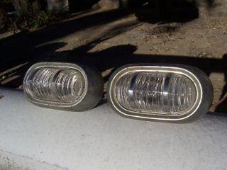 1953 1954 Pontiac Back Up Light Lenses Housings Chiefton Catalina Rat Hot Rod