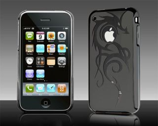 Dragon Hard Case Cover Black for iPhone 3G 3GS