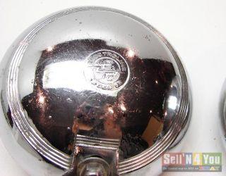 Vintage Electroline Fog Lamps Rat Hot Rod Art Deco Lights