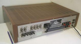 1981 Nostalgia JVC Stereo Receiver R S77 80W RMS