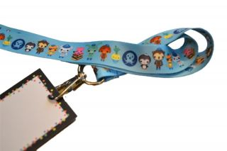 12 Octonauts Birthday Party Favor Keychain Lanyards w Name Cards