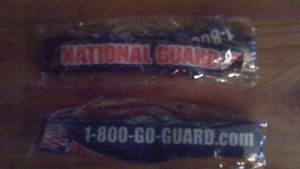 2 Army National Guard Lanyards Keychains