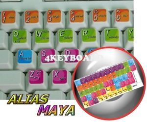 Autodesk Alias Maya Keyboard Sticker