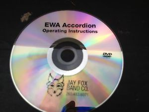 Scandalli Ewa Accordion Instructional DVD