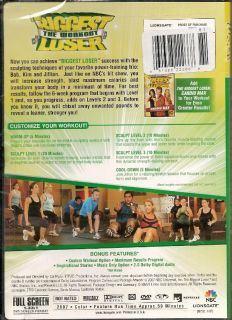Biggest Loser Workout Power Sculpt Muscle Blast 1hr DVD 031398222668