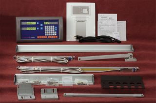 """Easson ES8A 2 Axis Digital Readout Milling 12""""x30"""" DRO Kit w 1 Year USA Warranty"""