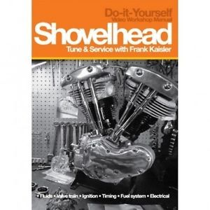 Shovelhead Harley Davidson Tune and Service DVD Instructional Video Manual