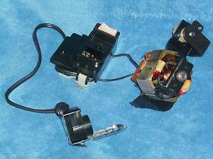 L K Singer Stylist 533 Sewing Machine Internal Motor Light Socket Power Switch