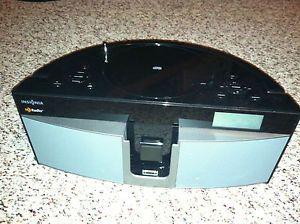 Insignia NS BHDIP01 Boombox CD Player with HD Radio iPod iPhone Dock Speaker
