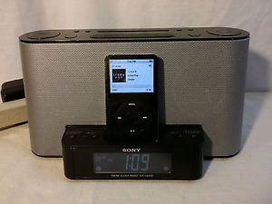 Sony Dream Machine ICF CS10IP Am FM Clock Radio iPod iPhone Dock Aux Alarm
