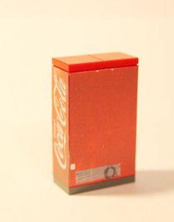 Custom Lego Vending Machine Sodas and Softdrinks
